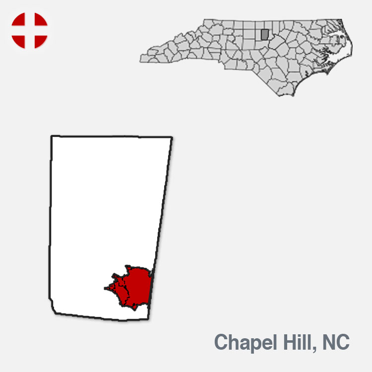 Chapel Hill, NC - City Border